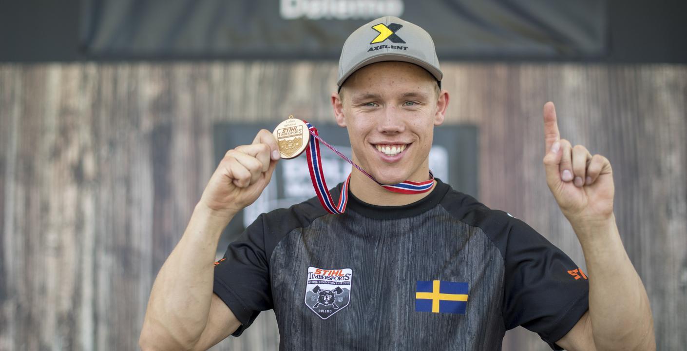 Nuvarande nordisk mästare Ferry Svan