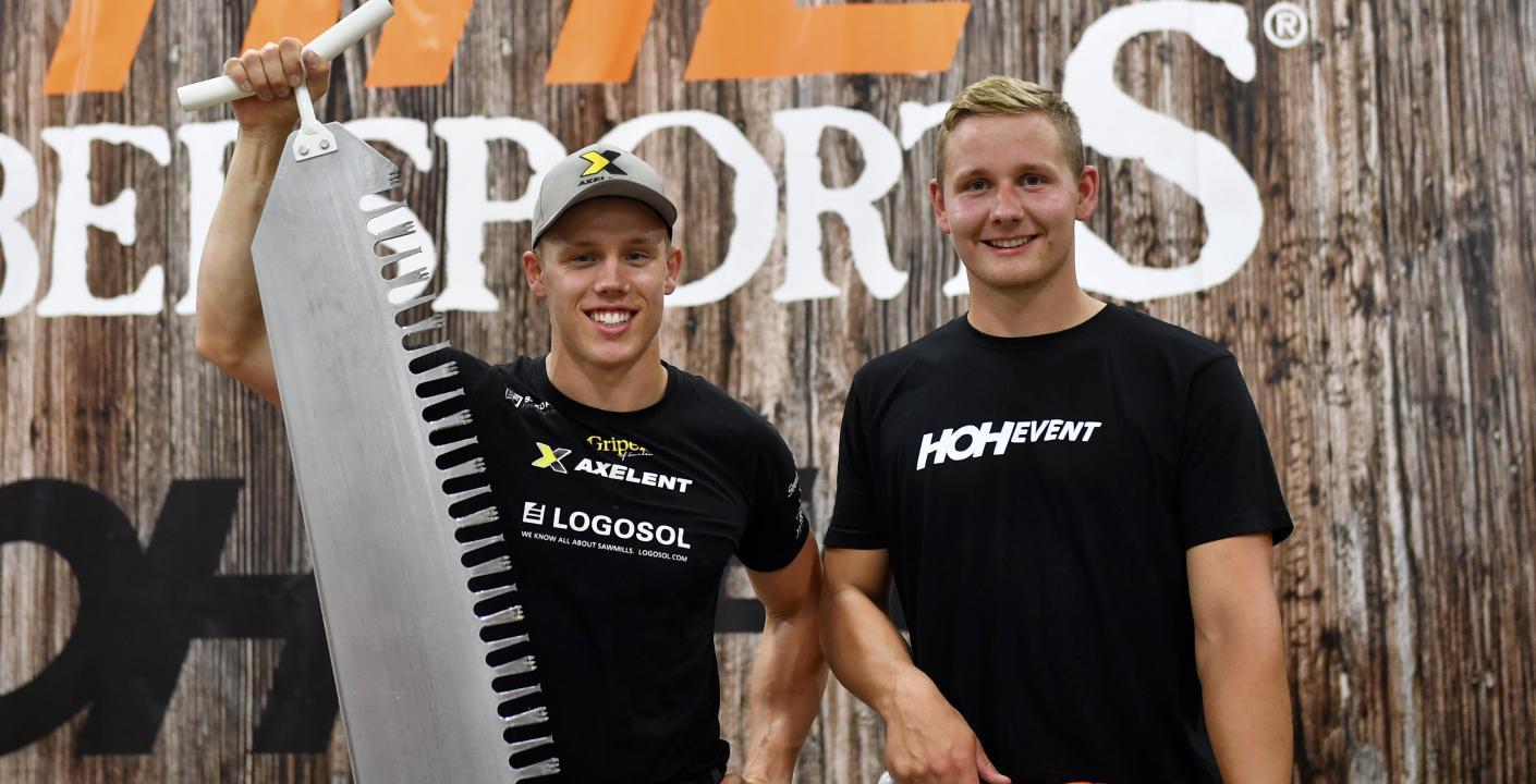 Ferry Svan och Emil Hansson